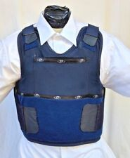 XXL  IIIA Concealable Body Armor Carrier BulletProof Vest with Inserts