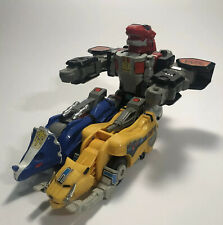 1991 Bandai Mighty Morphin Power Rangers Dino Megazord Deluxe Edition~incomplete