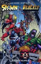 Spawn vs Wildcats crossover TPB alemán (US #1,2,3+4) Alan Moore WildC. A.T.s