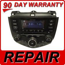REPAIR SERVICE 2003 2004 2005 2006 2007 Honda Accord 6 CD Changer 7BK0 7BC0 7BL0