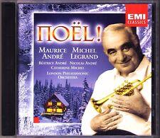 Maurice ANDRE NOEL WEIHNACHTEN CHRISTMAS Stille Nacht Sleigh Ride Jingle Bell CD