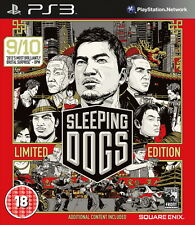 Sleeping Dogs - Sony PS3 Playstation 3 Complete