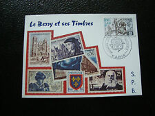 FRANCE - carte 2/5/1981 (le berry et ses timbres) (cy32) french