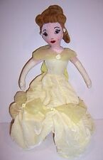 DISNEY PRINCESS BELLE Beauty & The Beast DELUXE PLUSH DOLL Toy BACKPACK Tote NEW