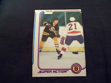 1981-82 OPC O-Pee-Chee #17 Ray Bourque Super Action 2nd year card - mint