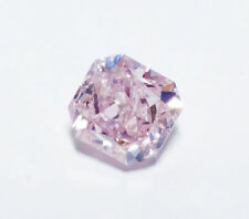 0.68ct Natural Loose Fancy Light Pink Color Diamond GIA Certified Radiant SI2