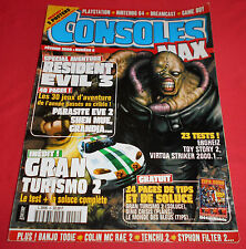 Magazine Consoles Max [n°8 Fév 00] PS1 Dreamcast N64 Resident Evil 3  *JRF*