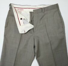 Brooks Brothers Red Fleece Mens Slim Trousers Wool Nailshead W34 L34 New RRP£140