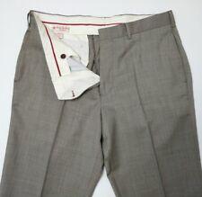Brooks brothers. Polaire Rouge Homme Pantalon Slim laine nailshead W34 L34 Nouveau RRP £ 140