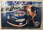 Miller Light Racing Nascar Poster 2003 Blond Sexy Girl Bikini Swim Suit 26x18