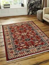 Traditional Hand Knotted Afghan Carpet Kazak Oriental Indian Area Rug