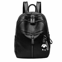 Women's Backpack Travel PU Leather Handbag Rucksack School Shoulder Bag US Stock