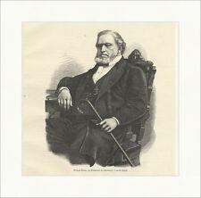 Brigham Young, il prete superiore dei mormoni Presidente Utah legno chiave e 12072