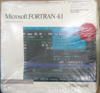 MICROSOFT FORTRAN 4.1 Optimizing Compiler, 1988 - BRAND NEW, SEALED.