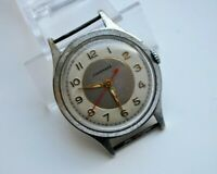 BEAUTIFUL RARE GERMAN JUNGHANS MILITARY VINTAGE WRISTWATCH 1950'S!