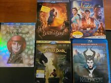 Movie Lot Beauty and the Beast 2017+poster, Jungle Book 2016, Aladdin 2016