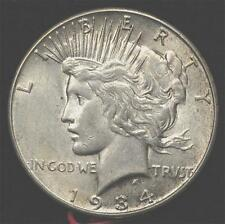 1934-S Dollar:  nice AU, natural and uncleaned, scarce in this grade