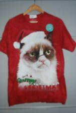 Mountain  T Shirt of Grumpy Cat Christm   size Medium   Bankrupt Stock Bargain !