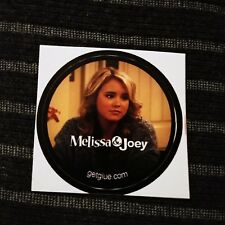 "MELISSA & JOEY TAYLOR SPRITLER LENNOX TV SMALL 1.5"" GETGLUE GET GLUE STICKER"