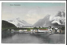 Naess, Romsdalen PPC 1913 Aalesund PMK  to Hale, Cheshire