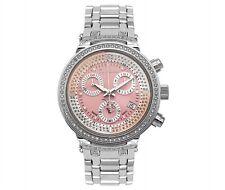 Joe Rodeo Women's JJML6 Master 0.90ct Diamond Steel Chronograph Quartz Watch