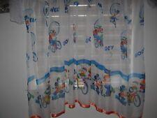 NUOVO Disney Mickey Mouse Netto Tenda Voile Minnie Arancione rifilatura D 150cm W 150cm
