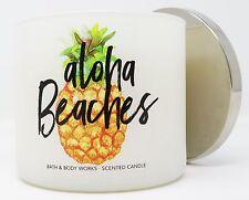 Bath & Body Works Aloha Beaches 3 wick 14.5 oz candle passionfruit kiwi
