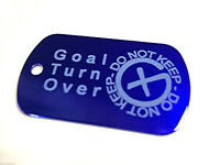 Mission, Buddy or Goal Tag for ANY Geocache Trackable Tag *Off the Shelf READY*