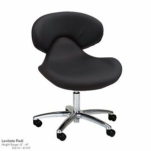 NEW Continuum Levitate Standard Chair For Pedicure Spas - BLACK