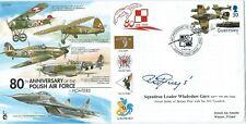 80th Anniv Polish Air Force Signed Wladyslaw Gnys,Polish,302 Sqn.Battle of Brita