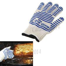 Heat Resistant Gloves Hot Protective Pot Heatproof Glove BBQ Grill Oven Kitchen