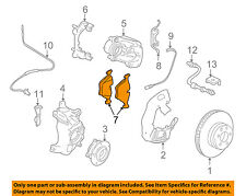 BMW OEM 00-06 X5 Brake-Front Pads 34116761252