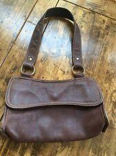 womens handbags and purses/J.Jill Brown Leather Shoulder Bag