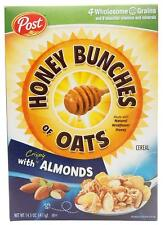 Honey Bunches of Oats with Crispy Almonds, 14.5-Ounce Box
