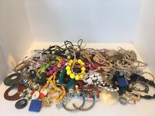 New listing Lot Junk Drawer Jewelry some broken some ok approx 4 + lbs