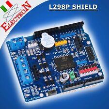 L298P Dual MOTOR Driver Shield 2A 6,5V-12V H-Bridge Arduino UNO MEGA Duemilanove