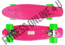 "22"" Abec7 Skateboard Retro Complete Deck Cruiser Skater Skating Plastic Board Princess"