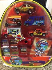 Lot Matchbox Around The World Car Set in Backpack Rare Cars NIP Camera Photos