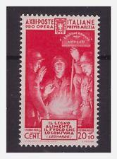 REGNO 1935  -  QUARTA MILIZIA  CENT  20   NUOVO  *