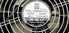 "ORION 10"" X 4"" Axial Fan 547 CFM 230V 50/60 Hz TESTED WORKING PULL [C7S2]"