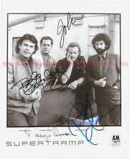 SUPERTRAMP BAND SIGNED AUTOGRAPHED 8x10 RP PROMO PHOTO GREAT 70's CLASSIC ROCK