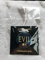 2019 NYCC CBS Evil TV Show Promo Pin Sealed
