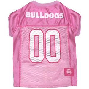 Pets First NCAA Pink Jersey for Pets 40+ Collegiate Teams in 4 sizes - Licensed