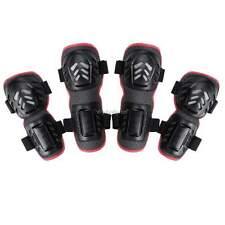 Outdoor Motorcycle Bike Elbow Knee Shin Armor Guard Pads Protector 4PCs Kit