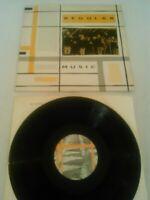 REGULAR MUSIC - S / T LP UK 1ST PRESS ROUGH TRADE ROUGH 73