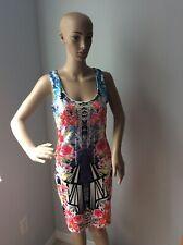 ARDEN B  Women's  Floral Red Black White Body-Con Dress Size L