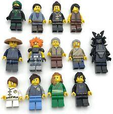 Lego New Ninja Minifigures from MOVIE Set 70657 Ninjago City Docks YOU PICK!!