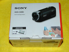 Sony HDR-CX440 HD Black Handycam with 8GB Internal Memory + 32GB Card