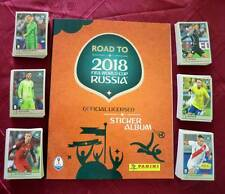 Panini ROAD TO WORLD CUP RUSSIA 2018 FIFA empty album + complete set stickers