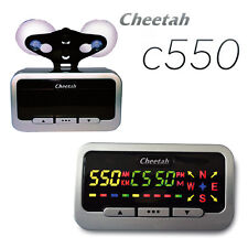 Cheetah C550 GPS Velocità e Luce Rossa Fotocamera Rilevatore